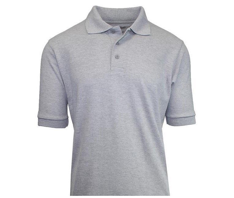 Boys classic polo collar with 3-button closure Top