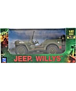 New Ray 1943 Jeep Willys 61053 US Army 20491132 S Die Cast 1:32 Modern A... - $23.75