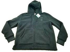 new PUMA men jacket hoodie black 577056 Big Sean FZ sz S MSRP - $52.46