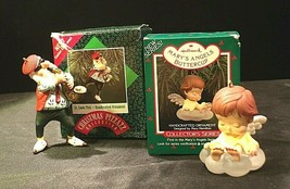 Hallmark Handcrafted Ornaments AA-191774E Collectible  ( 2 pieces )
