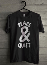 Peace and Quiet - Custom Men's T-Shirt (1789) - $19.13+