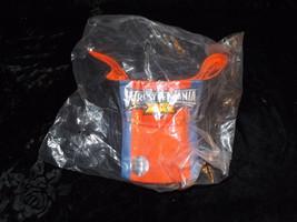 WrestleMania XXIV Orlando Florida Sun Visor 2008 hat orange and blue Bra... - $19.99