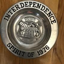 Rwp Wilton Columbia Pa Canada Dry Spirit Of 1976 Plate - $123.75