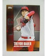 Trevor Bauer Arizona Diamondbacks 2013 Topps Baseball Card CD 4 - $0.98