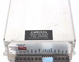 CAPP/USA  266680 TACHOMETER W/ALARMS, P/N: 266680 image 4