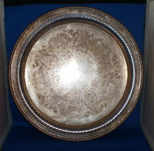 Wm Rogers Silver Serving Tray 172 - $19.75