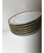 Noritake BUCKINGHAM GOLD 6 Teacup Saucer / Plate #4346 - $19.78