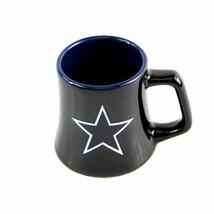 Dallas Cowboys Nfl Team Ceramic Shot GLASS/MUG 2 Oz Series #2 New Free Shipping! - $9.69