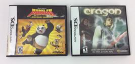 Eragon Kung FU Panda DS Games Set of 2 Nintendo Case Instruction Booklets - $26.05
