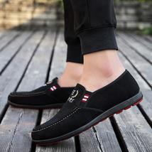 Spring Shoes Mens Flats Fashion Solid 2018 Breathable up Canvas Lace Spring New vXgXwqYP