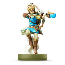 amiibo link bow [Breath of The Wild The Legend of Zelda JAPAN F/S w/Trac... - $51.18