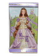 Princess and the Pea Barbie Doll Collector Edition w/Stand #28800 NRFB M... - $28.99