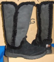 UGG Black KATIA Waterproof Suede Tall Boots Size US 7, EU 38 NEW #1008030 - $2.326,21 MXN