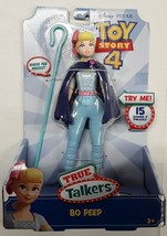 "Disney Pixar Toy Story 4 True Talkers Talking BO PEEP Figure 8.6"" BRAND NEW - $29.99"