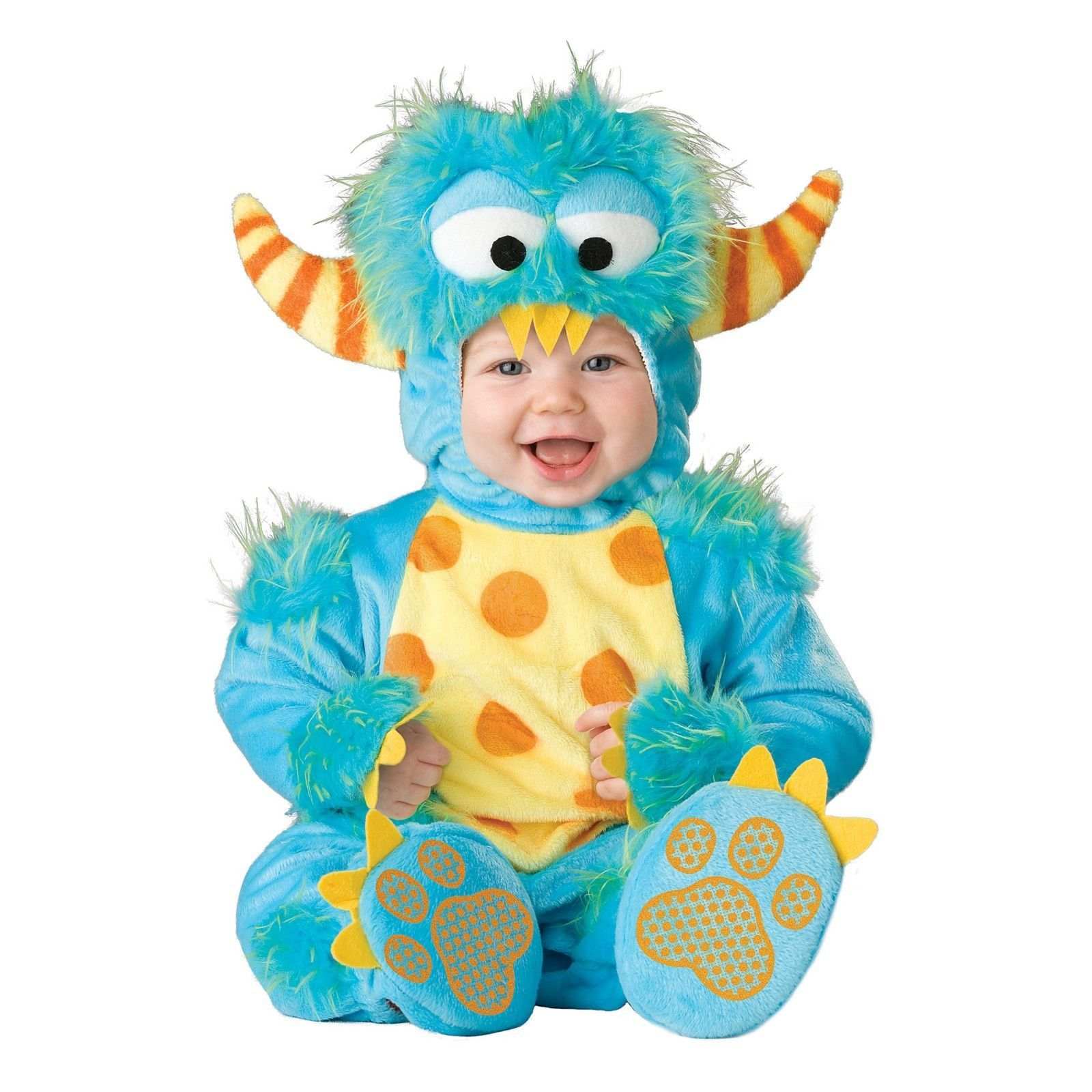 NEW NWT Boys or Girls Baby Lil Monster Halloween Costume 6/12 12/18 18/24 Months