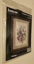 1990 Janlynn Counted Cross Stitch Find The Beauty Stoney Creek Collection New - $21.77