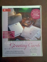 (BV) Legacy Embossed Greeting Cards With Envelopes (25 cards & 25 envelo... - $20.79