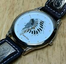 Vintage Jacque Clara Men Ornate Fancy Band Analog Quartz Watch Hours~New... - $28.49