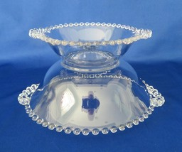 """Imperial Candlewick, 10"""" & 7 1/2"""" Fruit Bowls, 145 B, 72 B - $24.00"""