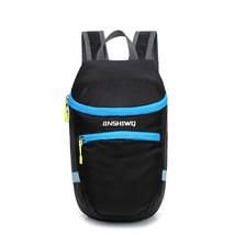 Outdoor Hiking Nylon 12L Backpack Waterproof Folding Bag For Men Women Quick-dry - $17.50