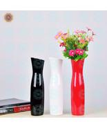 WR Color Porcelain Flower Vase for Personalized Home Decor Red Decoration - $18.00