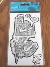 Color Me Love Foil Stickers - 2 Sheets. - $4.93