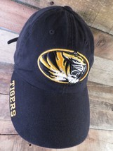 Mizzou TIGERS University of Columbia Missouri Adjustable Adult Cap Hat - $9.89