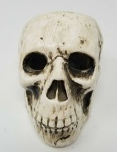 Ries Ceramic Skull Candle Holder Spooky and Scary - $8.90