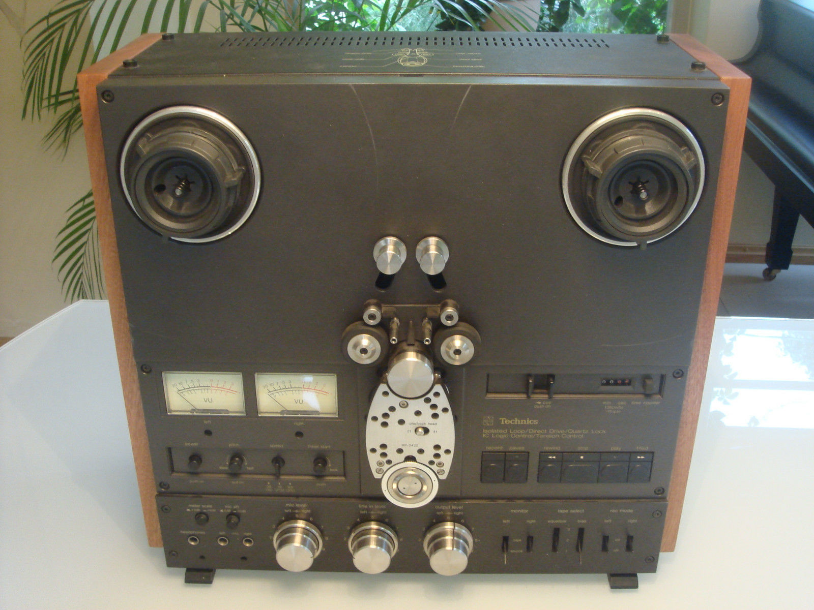 NEW CUSTOM Solid Wood Side Panels Reel Recorder Technics Teac Revox + Handles