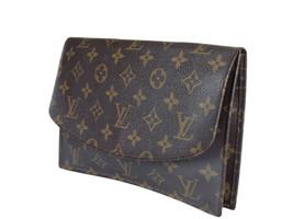 Louis vuitton vintage Pochette Rabat Monogram Canvas Clutch Bag LP2682 - $298.00