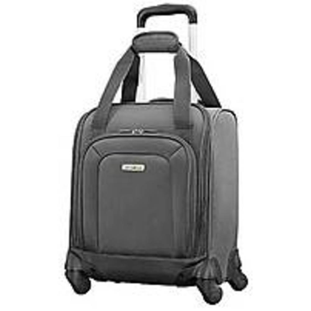 Samsonite 103471-1174 Underseater Spinner Rolling Suitcase - Charcoal