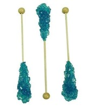 Rock Candy Swizzle Sticks - Blue Raspberry - $14.63