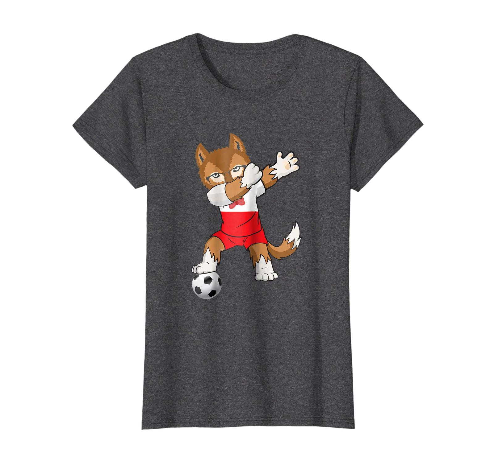 Brother Shirts - Poland Soccer Jersey 2018 World Football Cup T-Shirt Flag Wowen
