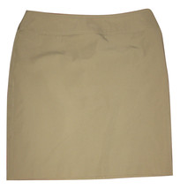 ISAAC MIZRAHI for TARGET Womes Sz 8 Pencil Skirt Beige Nude Wrinke-Free ... - $12.99