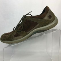 Merrell Aria Brown & Olive Suede Leather US Walking Shoes Size 9 - $27.71