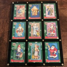 Christmas Around the World Trading Cards TCM In Hardcover Pocket Protector - $36.62