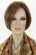 Light Brown Light Gold Blonde Highlights Medium Short Lace Front Jon Renau Wigs - $166.95