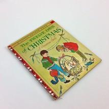 The Twelve Days of Christmas A Christmas Carol 1963 Childrens Vtg Golden... - $14.99