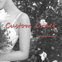 Custom Made - Reserved Order  -Custom Additional Cost by Dressromantic image 1