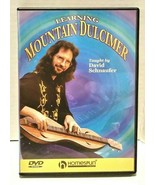 Homespun Video Learning Mountain Dulcimer DVD Taught By David Schnaufer - $25.00