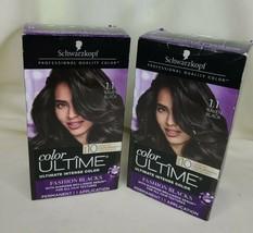 Schwarzkopf Color Ultime 1.1 Raven Black Magnificent Blacks Permanent Hair 2 ea - $22.75