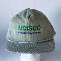 Vintage UCISCO Corduroy Snapback Hat Baseball TV / MOVIE PROP  - £11.54 GBP