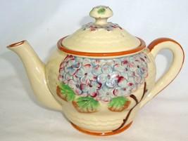 "Vintage Occupied Japan Blue Hydrangea Teapot, 5"" One Cup - $42.38"