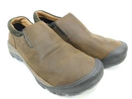 Keen Austin Size US 10.5 M (D) EU 44 Men's Slip On Casual Shoes Brown 1019508 - $68.55