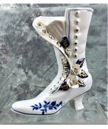 VTG COLLECTIBLE LEGO PORCELAIN VICTORIAN SHOE BOOT VASE MADE IN TAIWAN - $19.99
