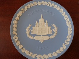 Wedgewood 1972 Christmas Plate, 1972 St. Paul's Cathedral - $8.99