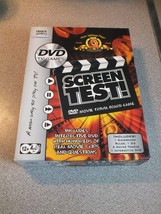 Screen Test DVD MGM Movie Trivia Board Game Hasbro 2004 - $12.25