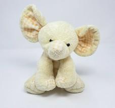 Ty Pluffies 2007 Yellow P'nut Baby Elephant P EAN Ut Stuffed Animal Plush Toy - $36.47