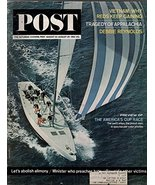 1964 Saturday Evening Post August 22-29-America's Cup; Debbie Reynolds; ... - $43.17