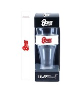 David Bowie Red Logo Heavy Duty Slap Band & Beer Pint Glass - $16.45